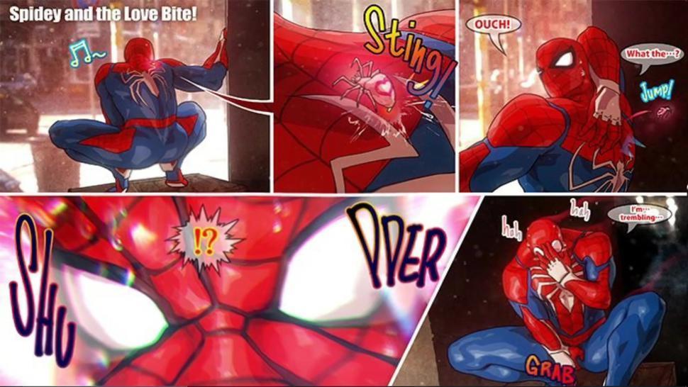 Spiderman y Venom - Caricatura Dibujito Animado Gay - Hentai Gay Yaoi HD 2020
