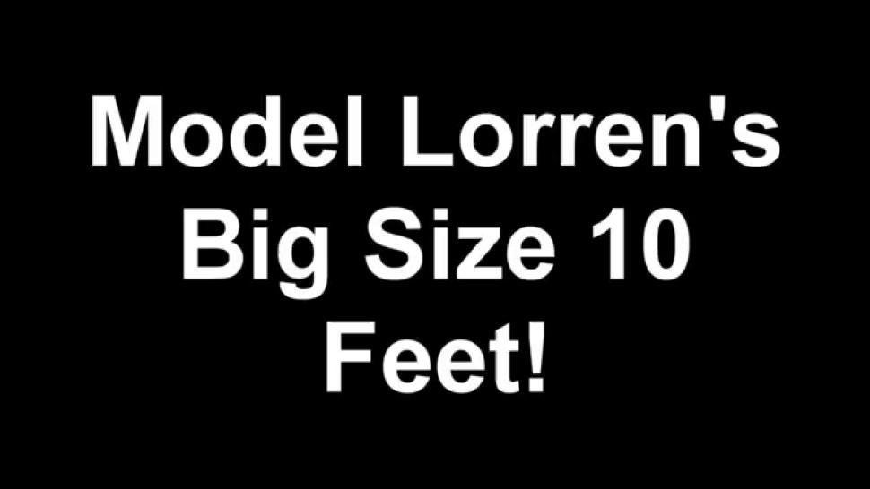 Big Ebony Size 10 feet socks and soles