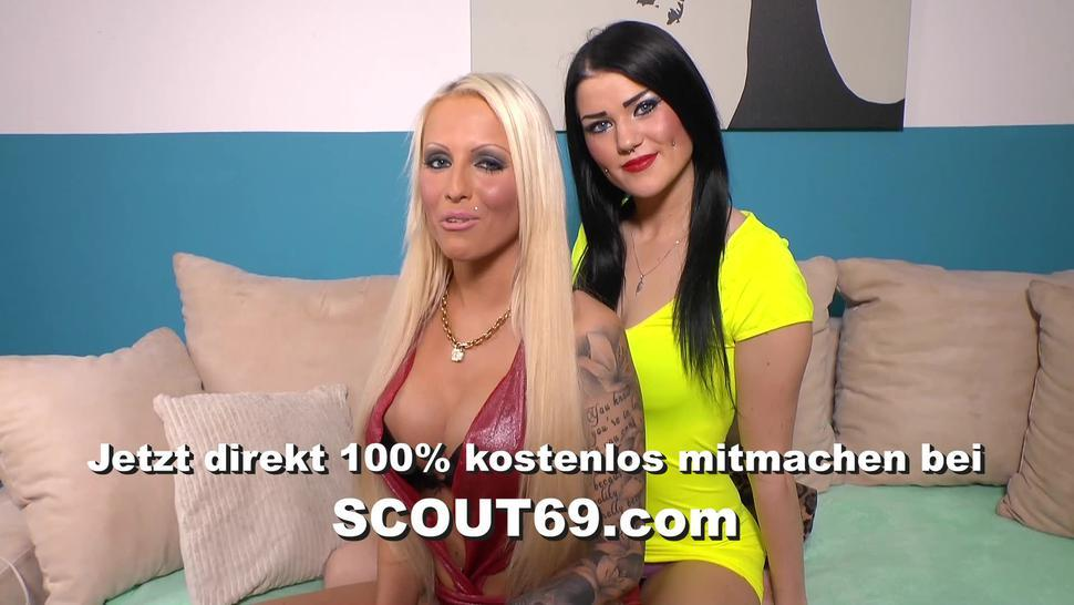 SCOUT69 - Real Homemade Girlfriend Change Foursome from German Couple