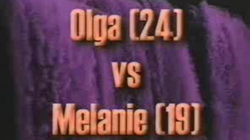Oil Wrestling Match