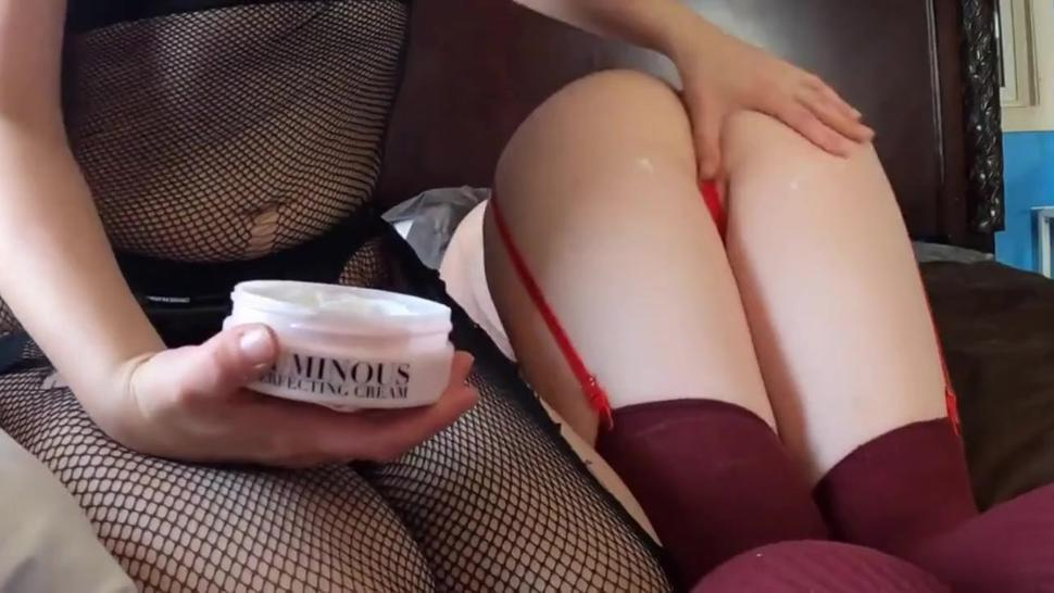 Sissy Guy Deeply Strapon Pegged By Hot Woman In Fishnet Stockings