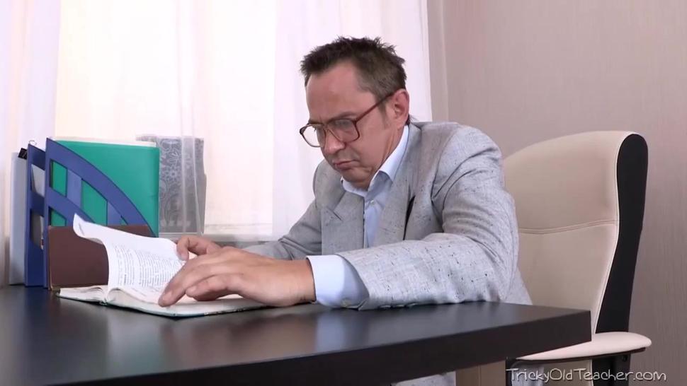 russian techer with little bb