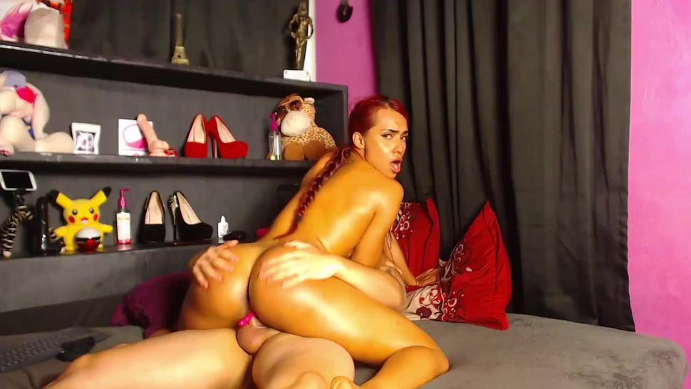 Hot oiled latina with perfect ass loves anal in different positions