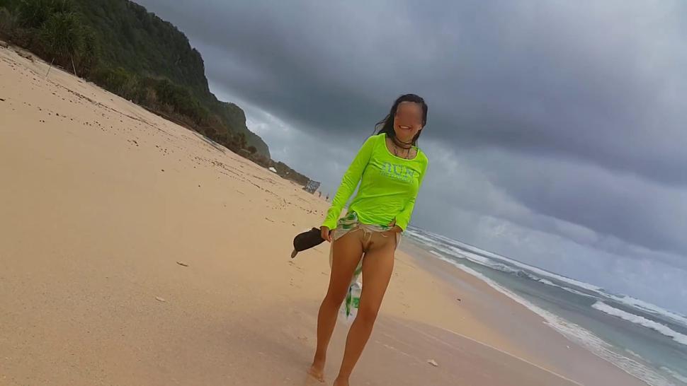 PEE at Stormy Ocean