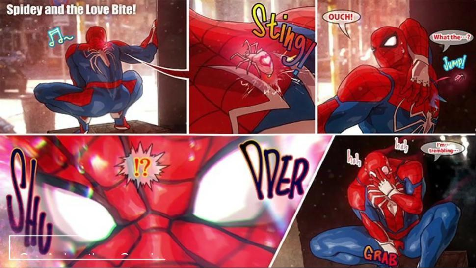 Group/group/dubbed butt spiderman