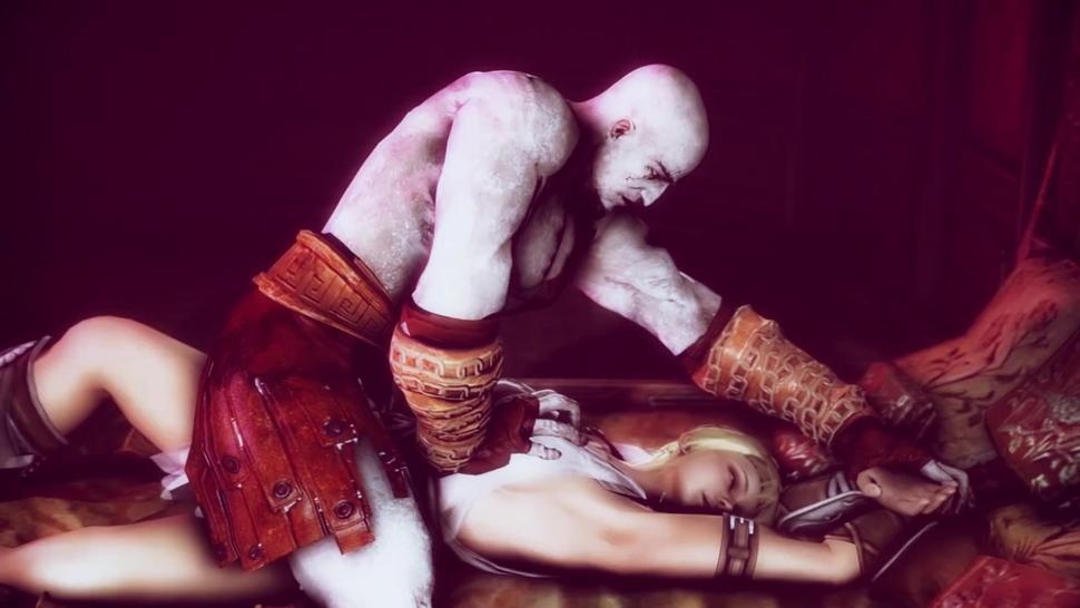 NSFW Kratos And Soph 3D Hentai Animation Good Quality, Long