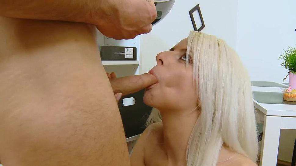 Cunning  russian blonde girl fucked in all poses