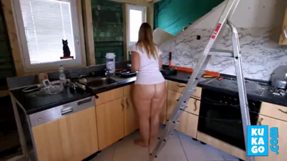 Fat Ass Kitchen Clean - video 1