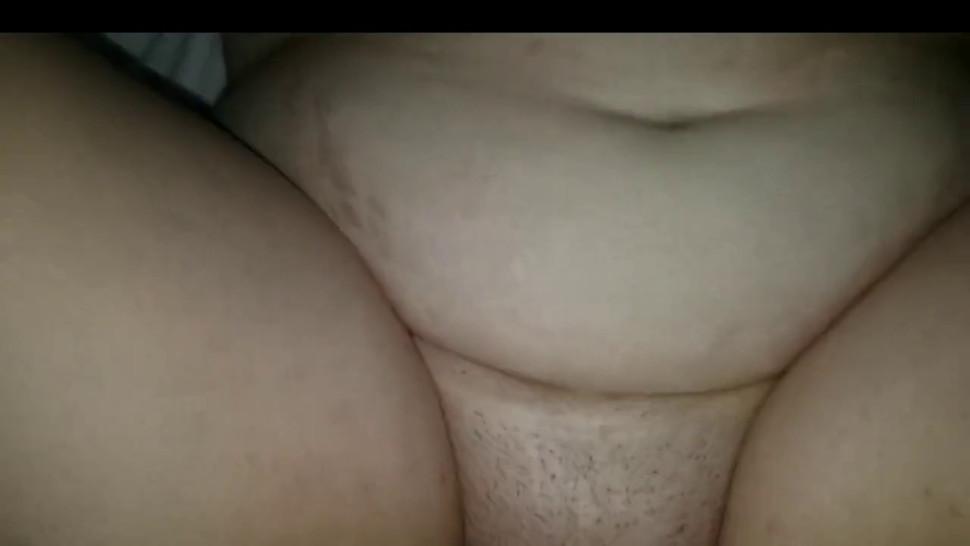 BBW hairy pussy pov big boobs