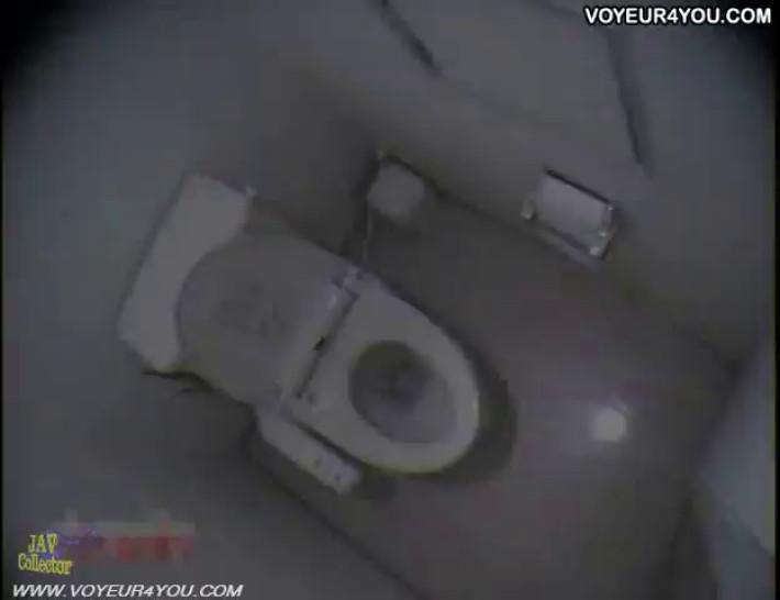 Office ladies toilet onanism