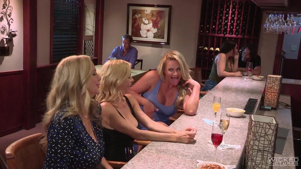 Wicked - A Little Help From My Friends, Scene 3, Maya Kendrick, Phoenix Marie  Big Boobs Worship