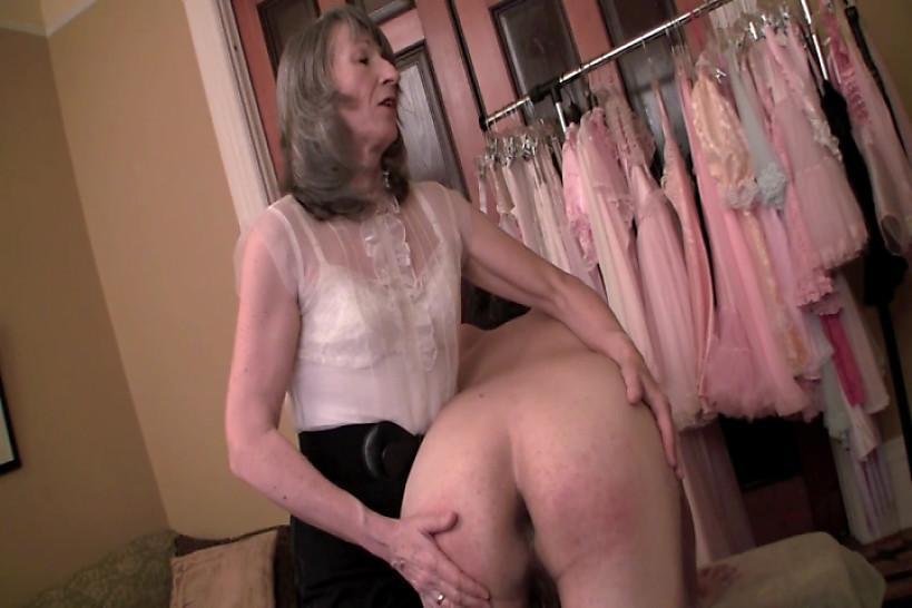 PANTY CLUB 4 MEN - Mrs Loving Spanks amd Panties Lauren