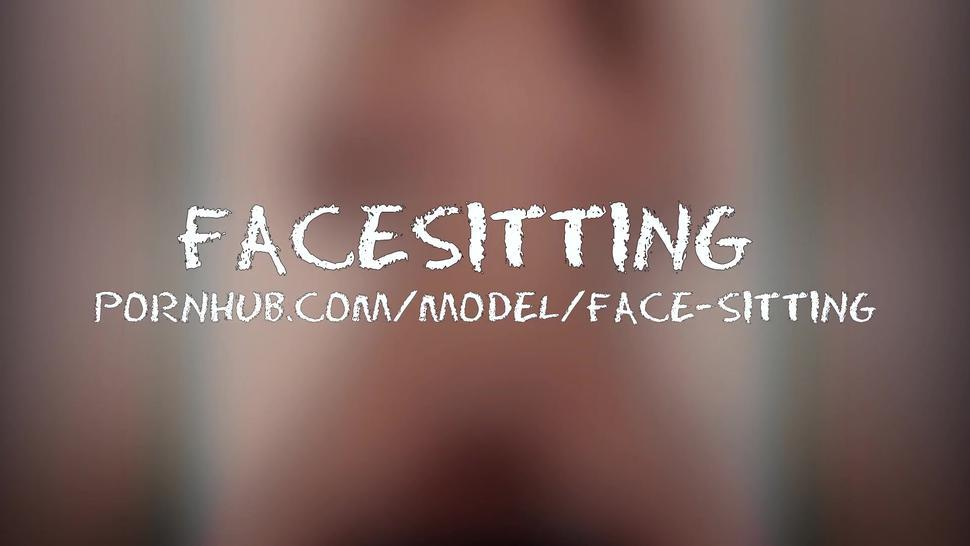Sitting on face in the morning, what could be better? Cunnilingus for Mistress - Facesitting