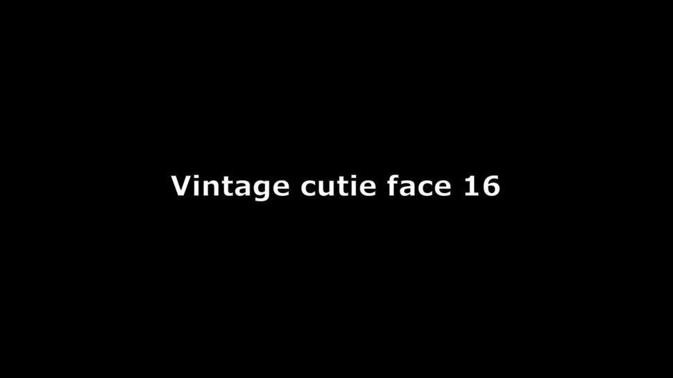 Vintage cutie face 16