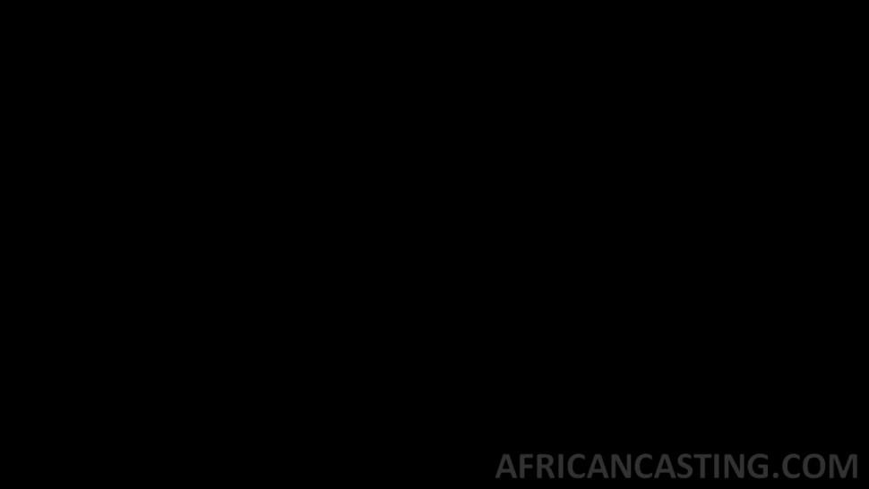 Curvaceous african slut is getting intense pussy hammering by a loaded meatgun