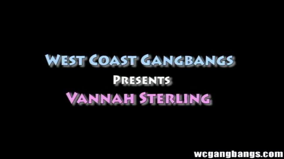 Vannah Sterling busty brunette double penetrated