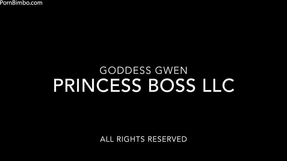 princess boss sock worship