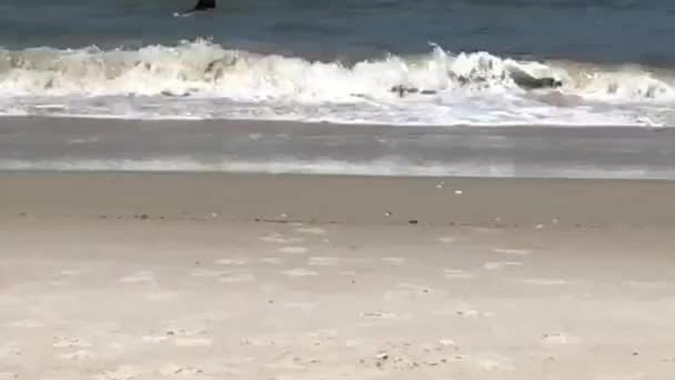 Nude beach makes us horny - part 1