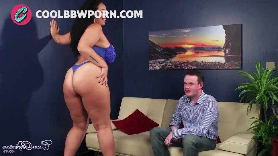 chubby huge boobs blowjob