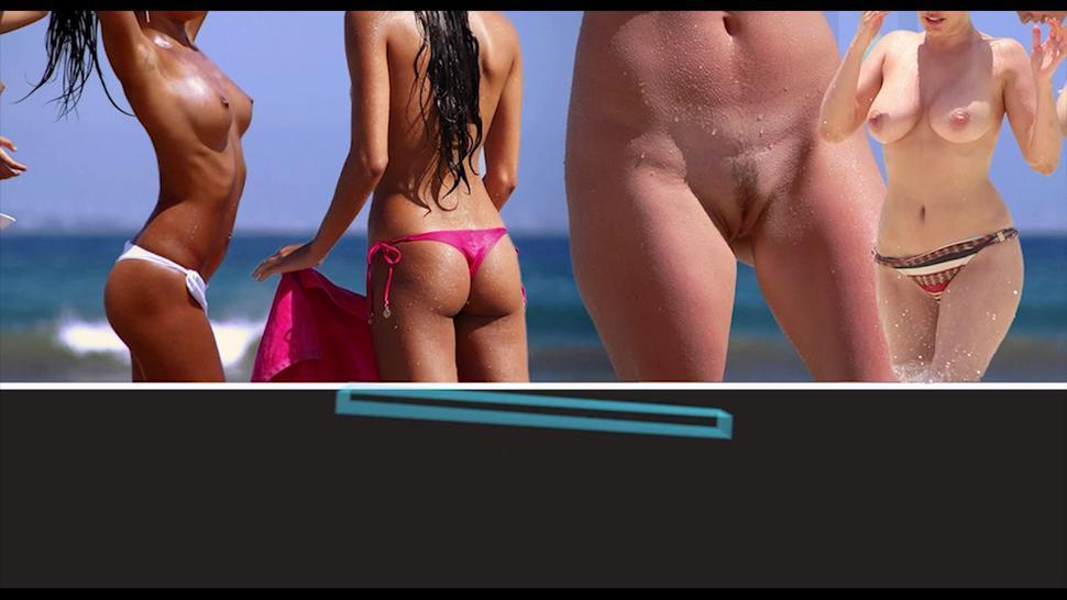AMateur Sexy Nudist Milfs Voyeur Beach HD Video