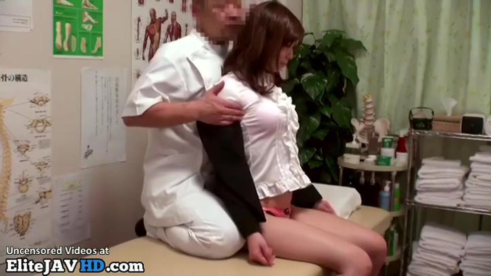 Japanese massage has an unexpected end