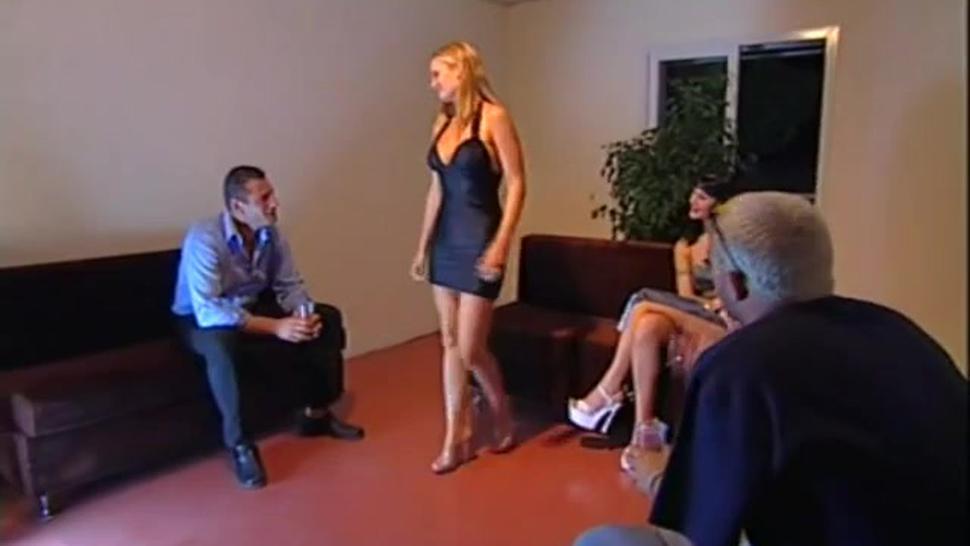 Nikki Anderson & Karma Rosenberg Anal Foursome Italian Movie Scene