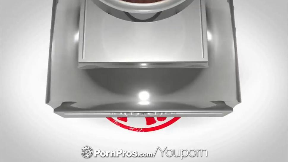 PornPros - Sexy girl on girl massage turns into threesome screw