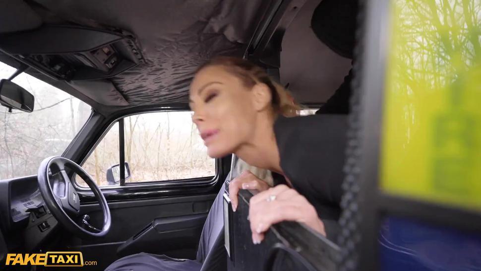 Fake Taxi Blonde Australian Isabelle Deltore fucked senseless