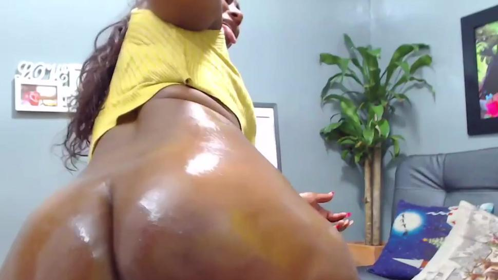 Huge black ass