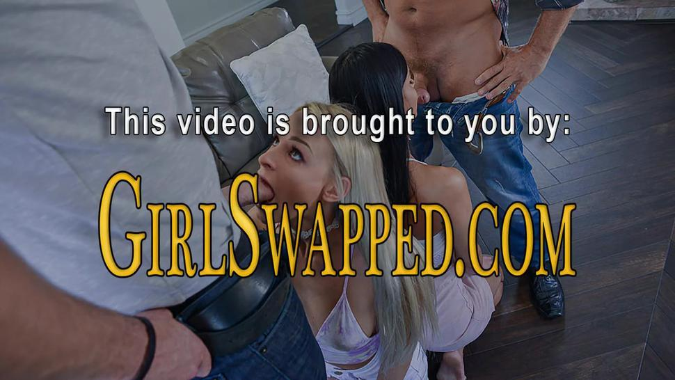 Kinky teens give head to stepdads