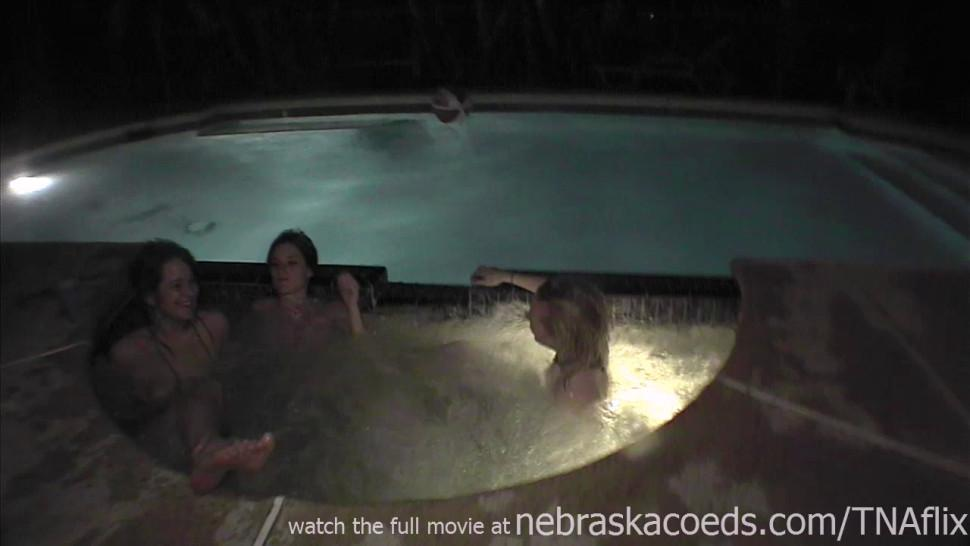 NEBRASKACOEDS - jacuzzi party whores on spring break south padre texas