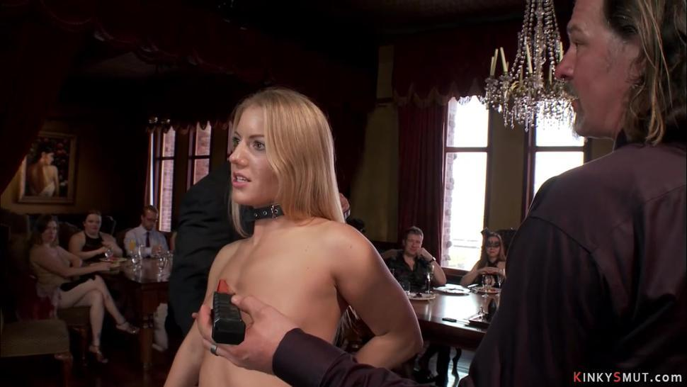 Orgy at bdsm sex party