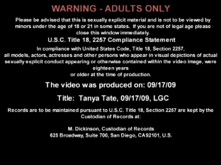 Tanya Tate - Live Naughty America 07/09//2009