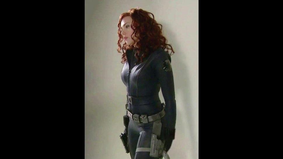 Scarlett Johansson  Try Not To Cum