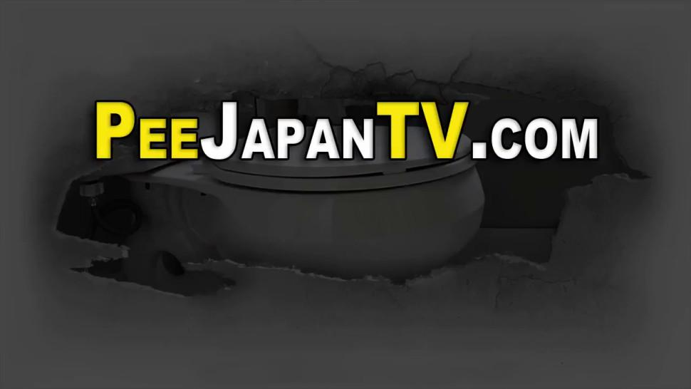 PISS JAPAN TV - Hairy asian teen pissing
