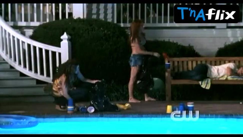 Danneel Ackles Bikini Scene  in One Tree Hill