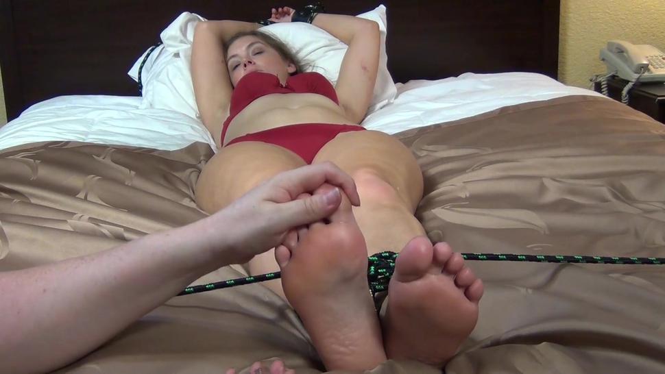 Rachel Adams Ticklish Vibrating Feet (Inner Sanctum Tickling)
