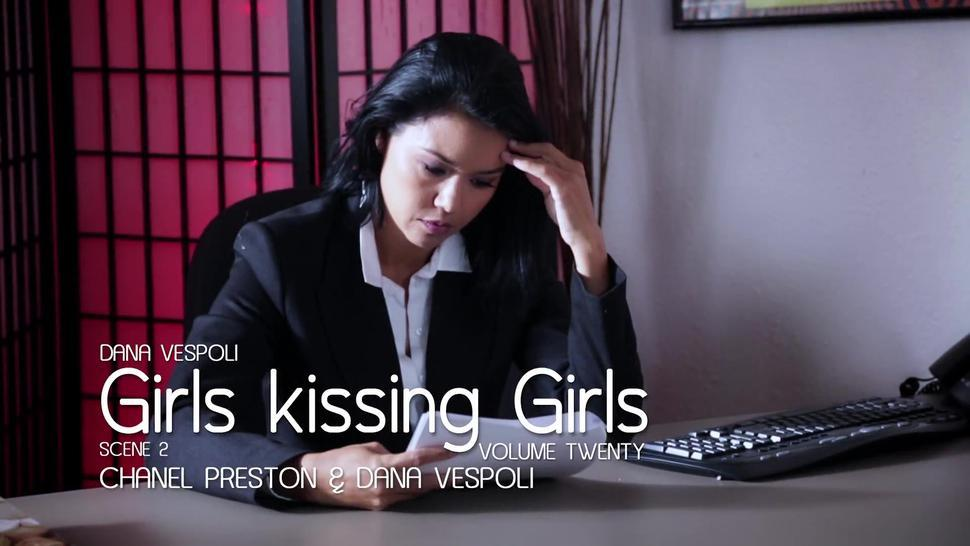 Lesbian slut Seducing her Boss