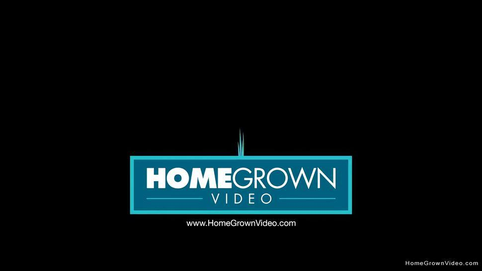 HOMEGROWNVIDEO - Ebony amateur with big nipples masturbates with her toy