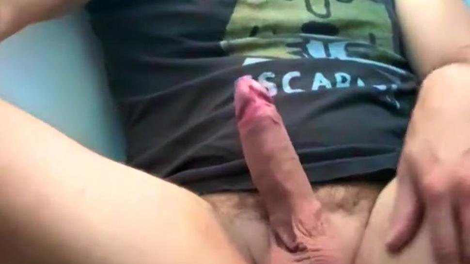 Biggest thick cum fountain for solo fit stud