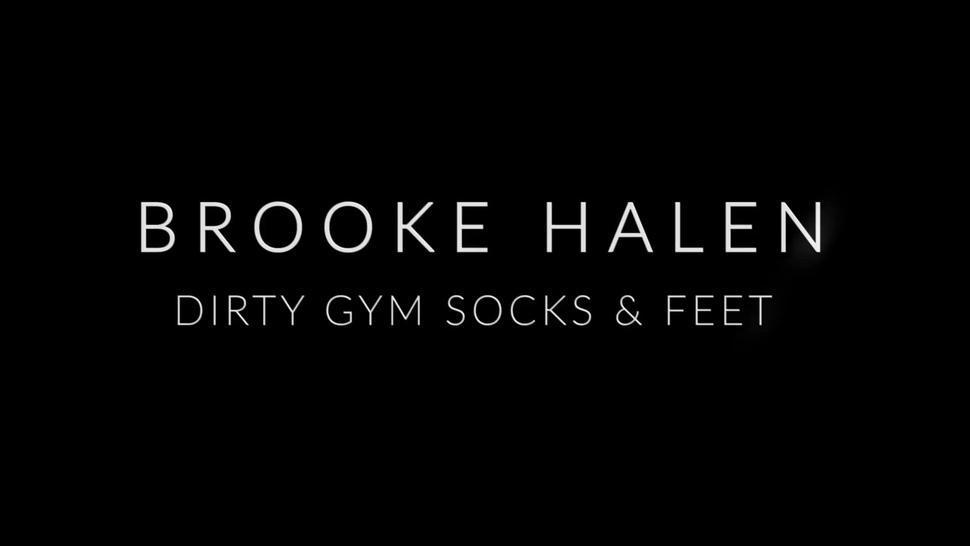 Brooke Halen Dirty Gym Socks and Feet JOI