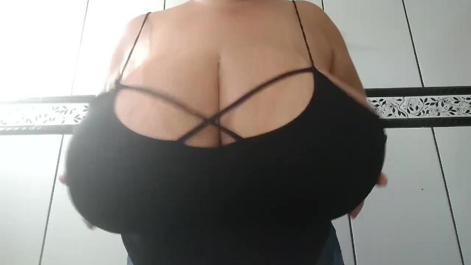 huge natural brazillian titties