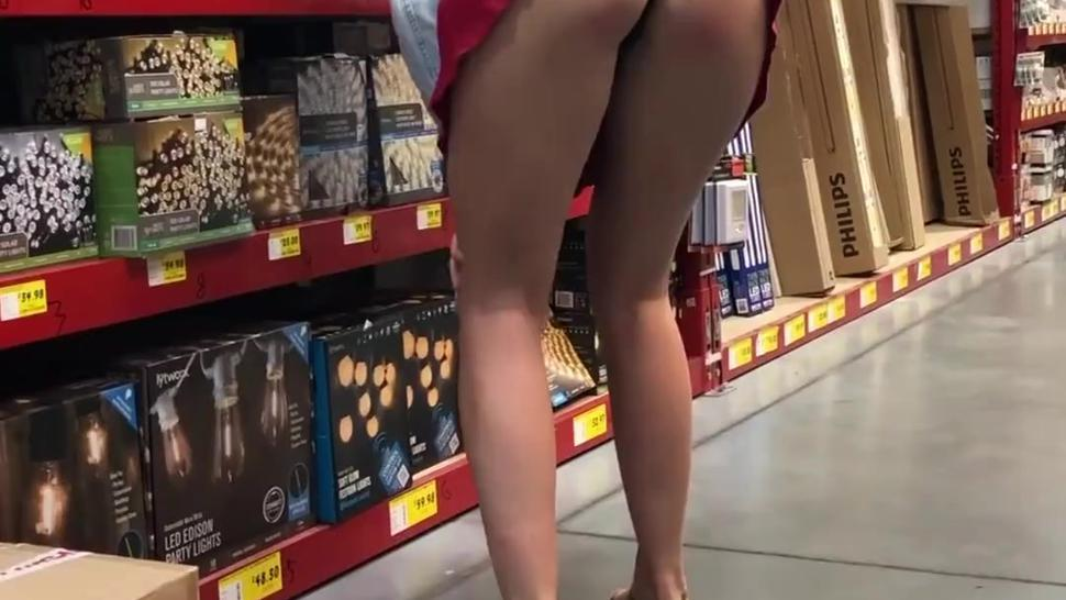 Flashing at the hardware store