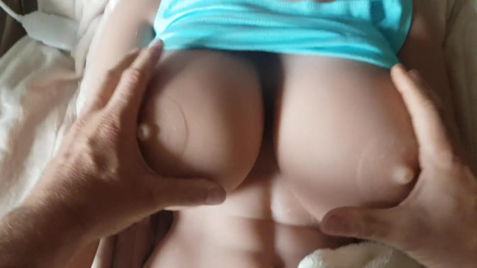 These are the beautiful huge jelly breasts from my WM-Doll 170 H-Cup !