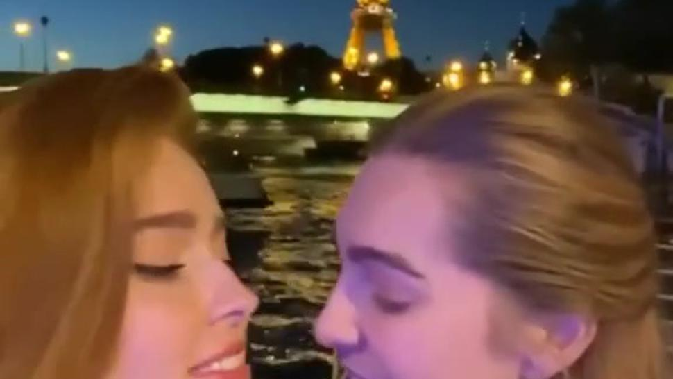 Lia Silver and Jia Lissa French Kiss