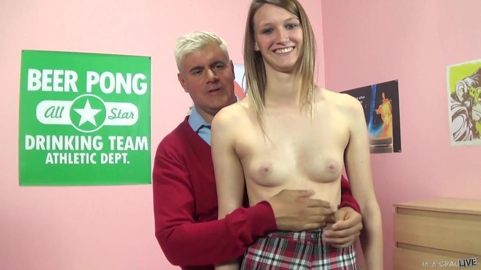 Wild Sophia Wilde Gets Sex Lessons From The Porno Professor