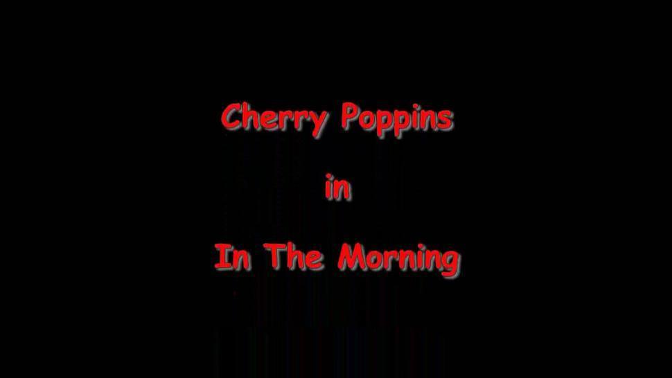 Sexy Brunette Addicted To Sex- Cherry Poppins - Sexy Cherry