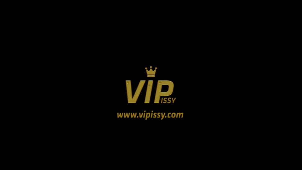 Vipissy - Piss drinking and lesbian pissing for brunette babes