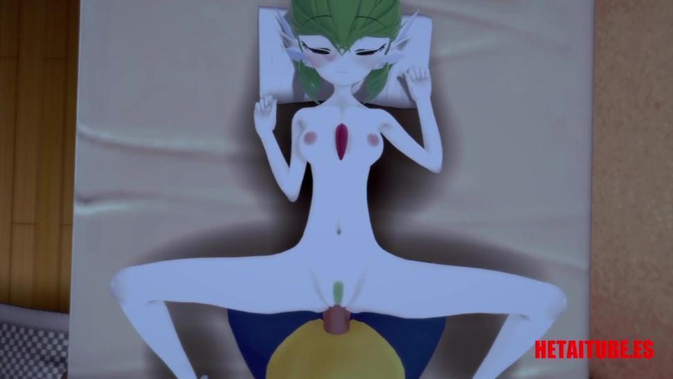Pokemon Hentai - Lucario Screw Gardevoir