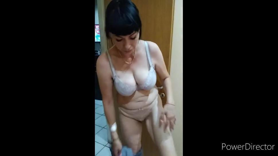 Naked Russian girl teasing me